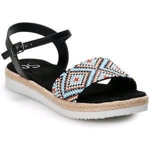 SO Spice platform sandals NIB size 8.5 M